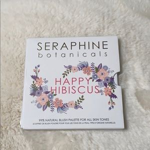 Seraphine Botanicals Happy Hibiscus blush palette